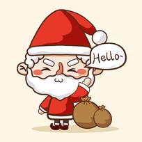 圣诞老人卡通