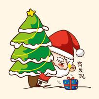 圣诞老人原创图片