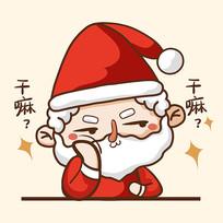 圣诞老人表情设计