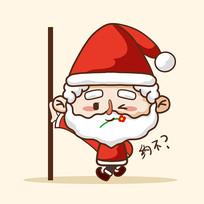 圣诞老人卡通表情