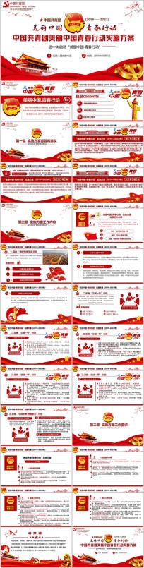 共青团美丽中国青春行动实施方案团课