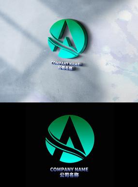 创意A字母LOGO设计
