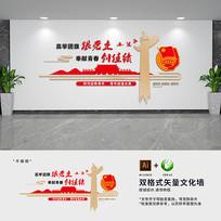 共青团党建文化墙