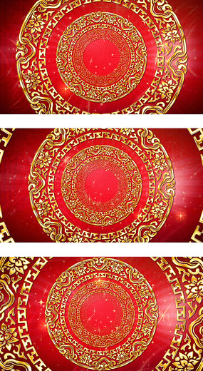 元旦春节联欢晚会视频素材