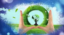 绿色环保城市AE模板
