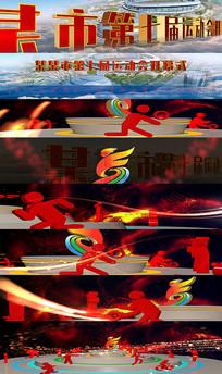 运动会开幕式视频模板