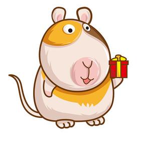 原创仓鼠礼物 PSD