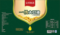 豆油标签设计
