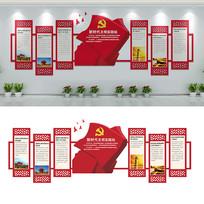 党建新时代文明实践站文化墙