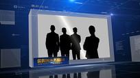 企业团队介绍空间宣传AE模板