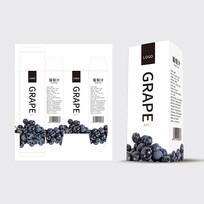 高档的葡萄汁包装设计
