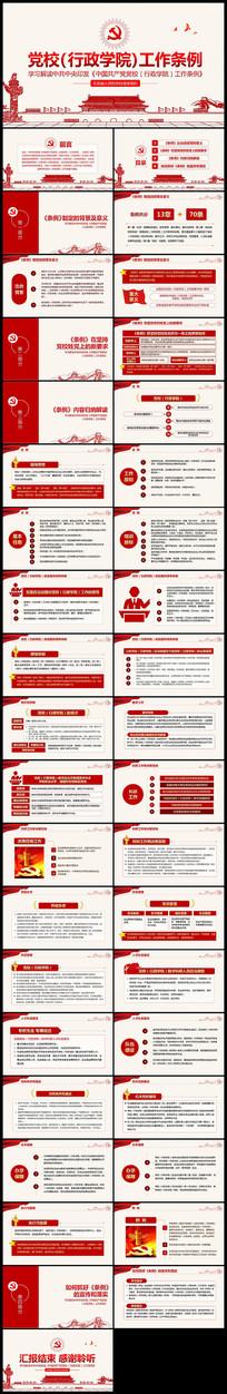 学习中国共产党党校行政学院工作条例PPT