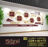 中医馆中医养生文化墙设计