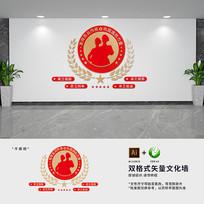 民兵标语部队文化墙