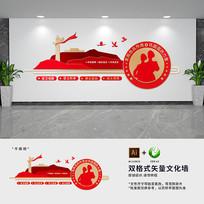 民兵部队文化墙