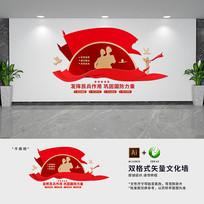 民兵活动室文化墙