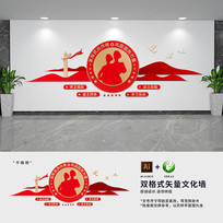 民兵之家文化墙