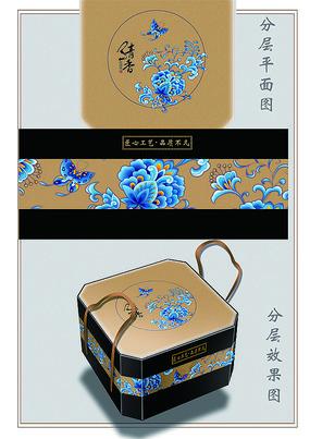 清香分层包装礼盒设计图