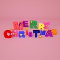 merrychristmas圣诞快乐字