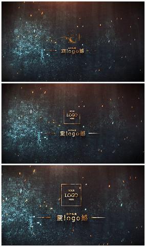 震撼金属logo演绎AE视频模板