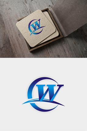 w字母logo