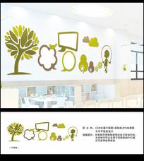 幼儿园儿童文化墙设计