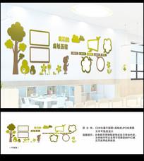 幼儿园长廊文化墙