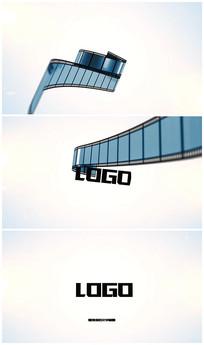 复古电影胶卷演绎logo视频模板