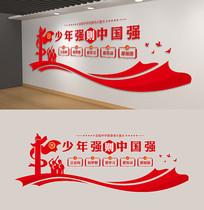 少年强则中国强校园党建文化墙