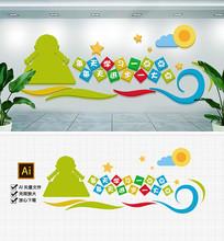 图书室阅j览室励志标语校园文化墙