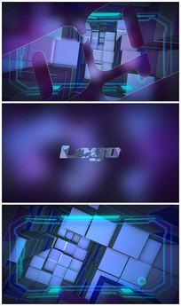 科技感logo视频模板