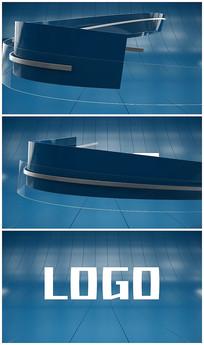 科技新闻片头logo视频模板