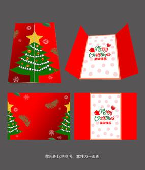 创意圣诞节贺卡设计
