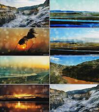 黄河母亲配乐+伴奏版两个版本视频背景