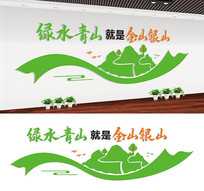 社区环保展板宣传标语设计
