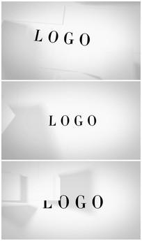 【4个版本】简洁logo演绎AE视频模板