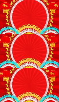 春节年会中国风视频背景素材