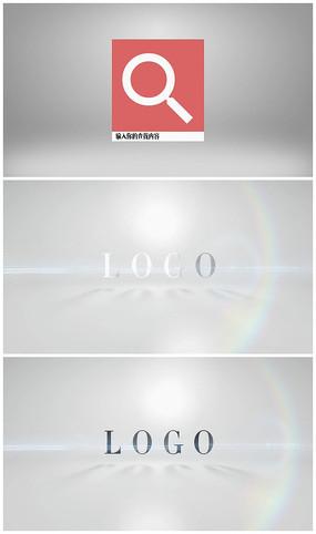 网页搜索图文标志展示AE视频模板