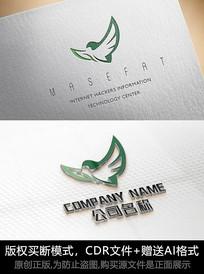 鸟logo标志小鸟商标