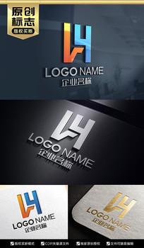 LY字母标志设计