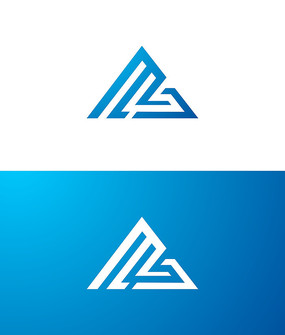 MS字母logo设计