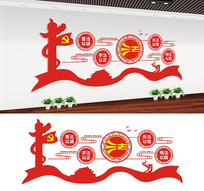 社区法治宣传文化墙设计