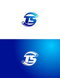 TS字母标志设计