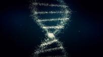 科技生物DNA双螺旋分子结构视频素材