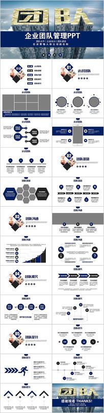 有效的团队管理团队建设企业培训课件PPT