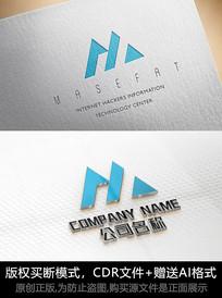 M字母logo公司商标设计
