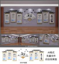 企业文化墙展板设计