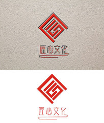 匠心文化活动会徽标识设计 CDR