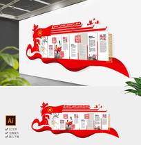 新中式廉政文化墙浩然正气廉政建文化墙
