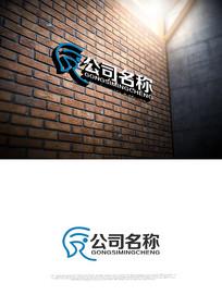 R字母logo设计设计 CDR